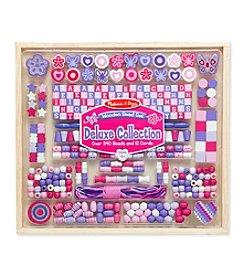 Melissa & Doug® Deluxe Collection Wooden Bead Set