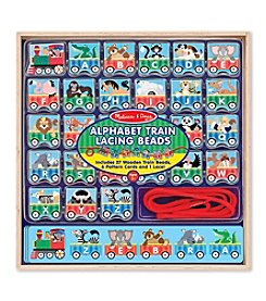 Melissa & Doug® ABC Lacing Train
