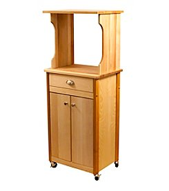 Catskill Craftsmen Hutch Top Cart with Enclosed Storage