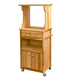 Catskill Craftsmen Hutch Top Cart with Open Storage