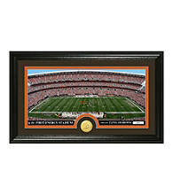 "Cleveland Browns ""Stadium"" Bronze Coin Panoramic Photo Mint by Highland Mint"