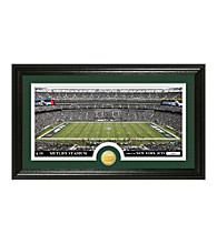 "New York Jets ""Stadium"" Bronze Coin Panoramic Photo Mint by Highland Mint"