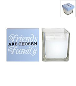 New View 2-pc. Friends and Family Candle and Box Sign Set