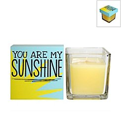 New View 2-pc. You Are My Sinshine Candle and Box Sign Set