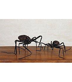 Transpac Art Pinecone Spider