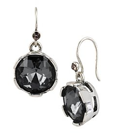Kenneth Cole® Black Diamond Faceted Round Bead Drop Earrings