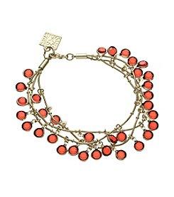 Anne Klein® Goldtone Siam Shaky Bracelet