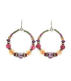 Ruby Rd.® Gypsy Hoop Earrings