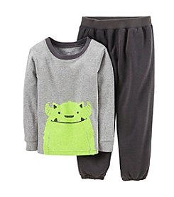 Carter's® Boys' 12M-7 2-Piece Monster Pajama Set