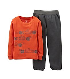 Carter's® Boys' 12M-7 2-Piece Race Car Pajama Set