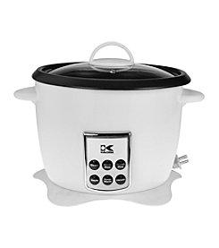 Kalorik Multifunction Digital Rice Cooker with Retractable Power Cord