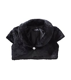Amy Byer Girls' 7-16 Fur Shrug