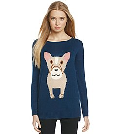 Love by Design Bulldog Critter Sweater