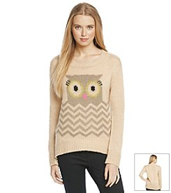 Jolt® Chevron Owl Critter Sweater