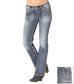Silver Jeans Co. Aiko Mid Rise Boot Jeans
