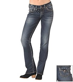 Silver Jeans Co. Suki Mid Rise Slim Boot
