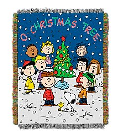 Northwest Company™ Charlie Brown Christmas Holiday Throw