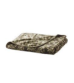 Ruff Hewn Camouflage Microfleece Blanket