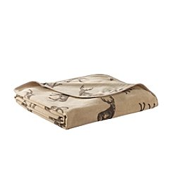 Ruff Hewn Deer Microfleece Blanket