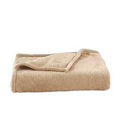 LivingQuarters Warm Sand Micro Cozy Blanket