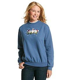 Morning Sun Santa Chicks Sweatshirt