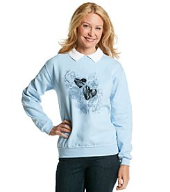 Morning Sun® Lacy Heart Sweatshirt