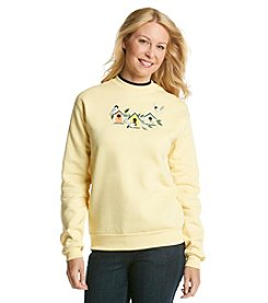 Morning Sun® Busy Birdhouses Sweatshirt