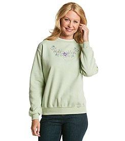 Morning Sun® Bright Floral Sweatshirt
