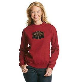Morning Sun® Velvet Winter Tree Sweatshirt