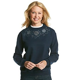Morning Sun® Snowflake Sweatshirt