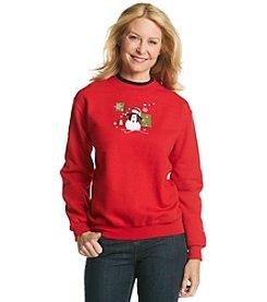 Morning Sun Snowman Sweatshirt