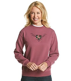 Morning Sun® Holiday Heart Sweatshirt