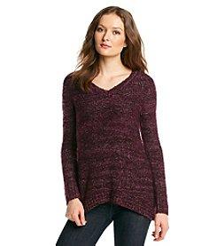 Como Black Space Dye Pullover Sweater