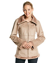 Jones New York® Faux-Fur Coat