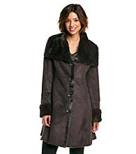 Jones New York® Oversized Wing Collar Walker Coat