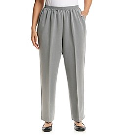 Alfred Dunner® Plus Size Manhattan Skyline Pull On Pant