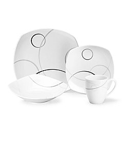 Mikasa® Geometric Circles 16-pc. Place Setting