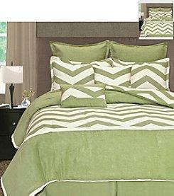 Palmetto Printworks Zig Zag 8-pc. Comforter Set