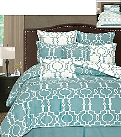 Palmetto Printworks Grid Iron 8-pc. Comforter Set