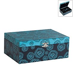 Mele & Co. Layla Floral Print Fashion Jewelry Box