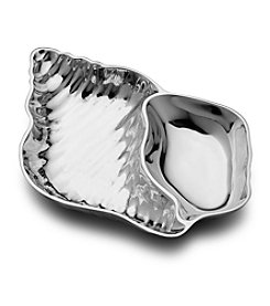 Wilton Armetale® Shell Chip n' Dip Tray