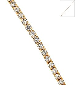 OroClone Crystal Single Row Bracelet