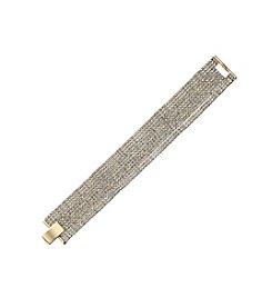 OroClone Crystal 11 Row Bracelet