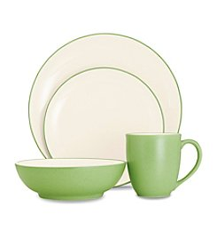 Noritake Colorwave Apple Coupe Dinnerware Collection
