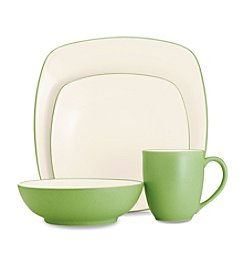 Noritake Colorwave Apple Square Dinnerware Collection