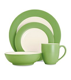 Noritake Colorava Apple Rim Dinnerware Collection