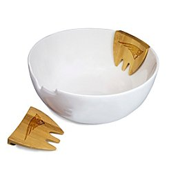 NFL® New England Patriots Romano Salad Bowl Set