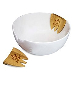 NFL® New Orleans Saints Romano Salad Bowl Set