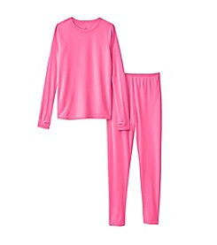 Cuddl Duds® Girls' 4-16 Polyester Thermal Set