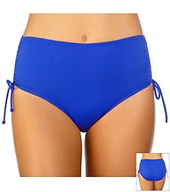 Caribbean Joe Solid Adjustable Swim Brief